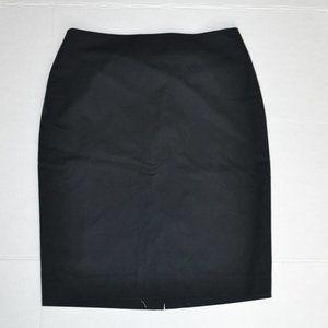NWT Ann Taylor Black Label Pencil Skirt 0P READ